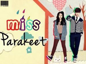 miss parakeet-poster