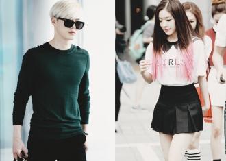 Suho and Irene