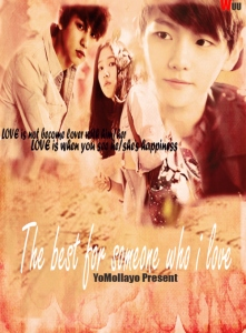 The Best For Someone Who I Love Poster